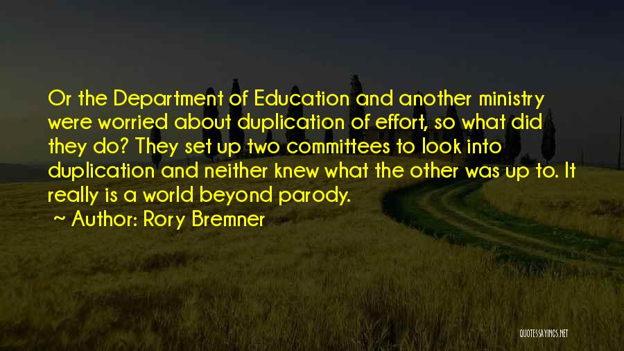 Worried Quotes By Rory Bremner