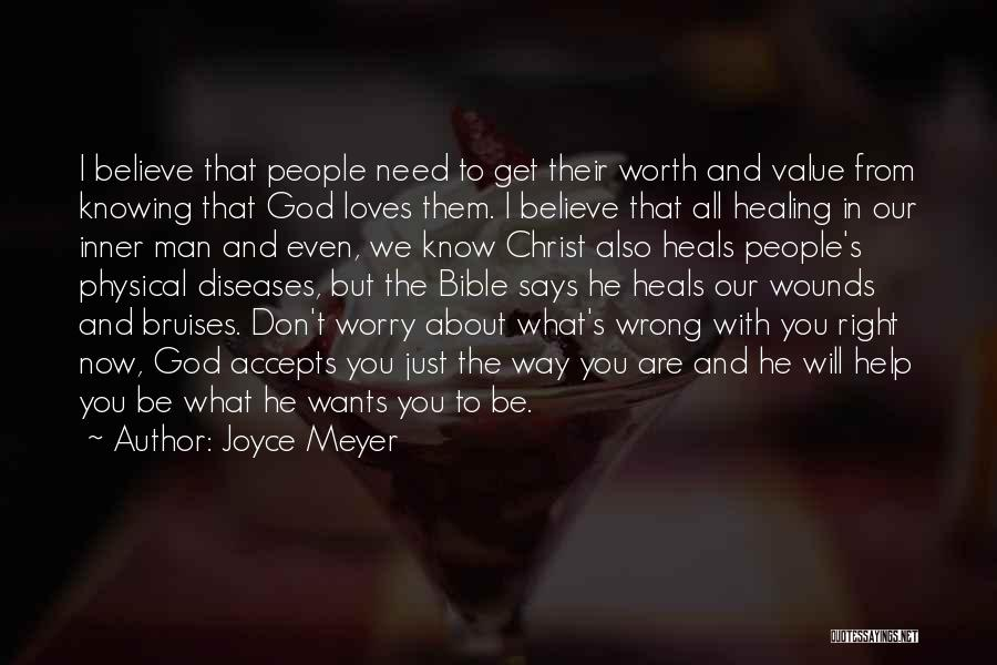 Worry Bible Quotes By Joyce Meyer