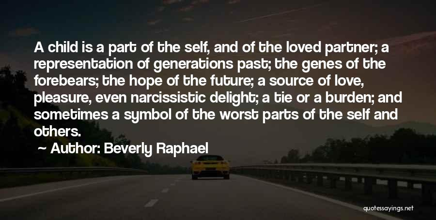 Worst Part Of Love Quotes By Beverly Raphael