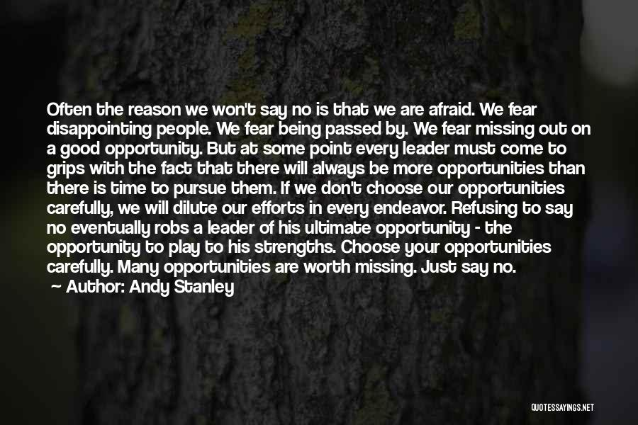 Worth Your Time Quotes By Andy Stanley