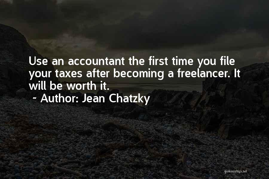 Worth Your Time Quotes By Jean Chatzky