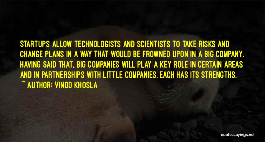 Would Be Quotes By Vinod Khosla