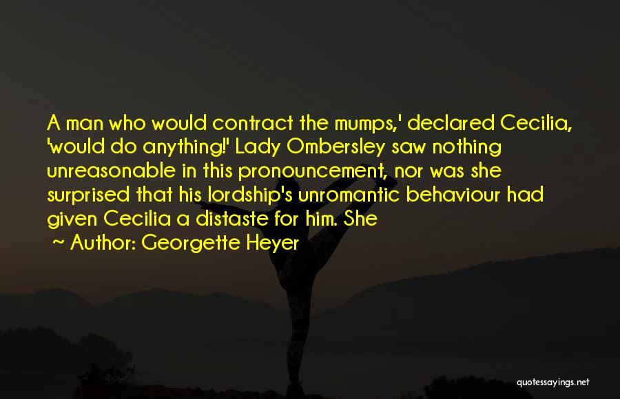 Would Do Anything Quotes By Georgette Heyer
