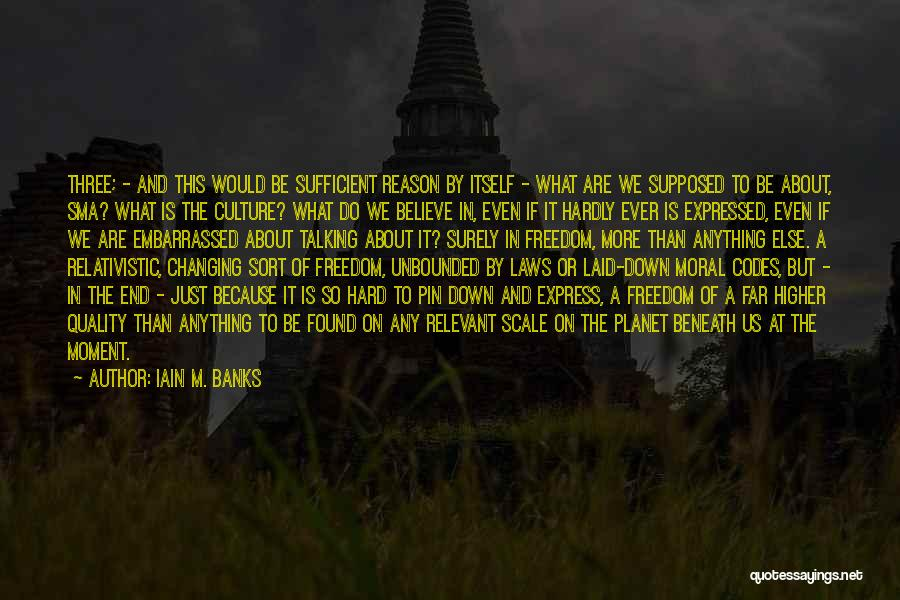 Would Do Anything Quotes By Iain M. Banks