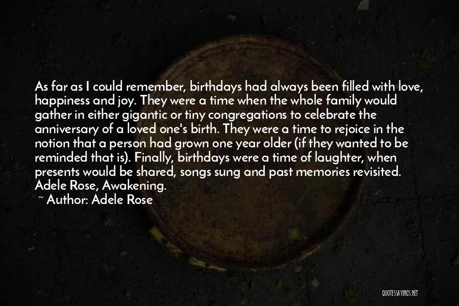 Would Have Been Anniversary Quotes By Adele Rose