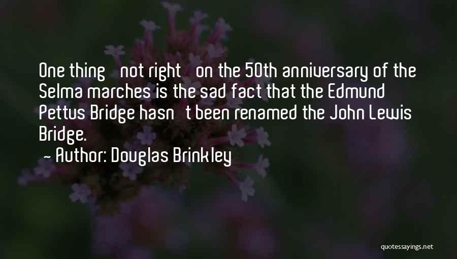 Would Have Been Anniversary Quotes By Douglas Brinkley