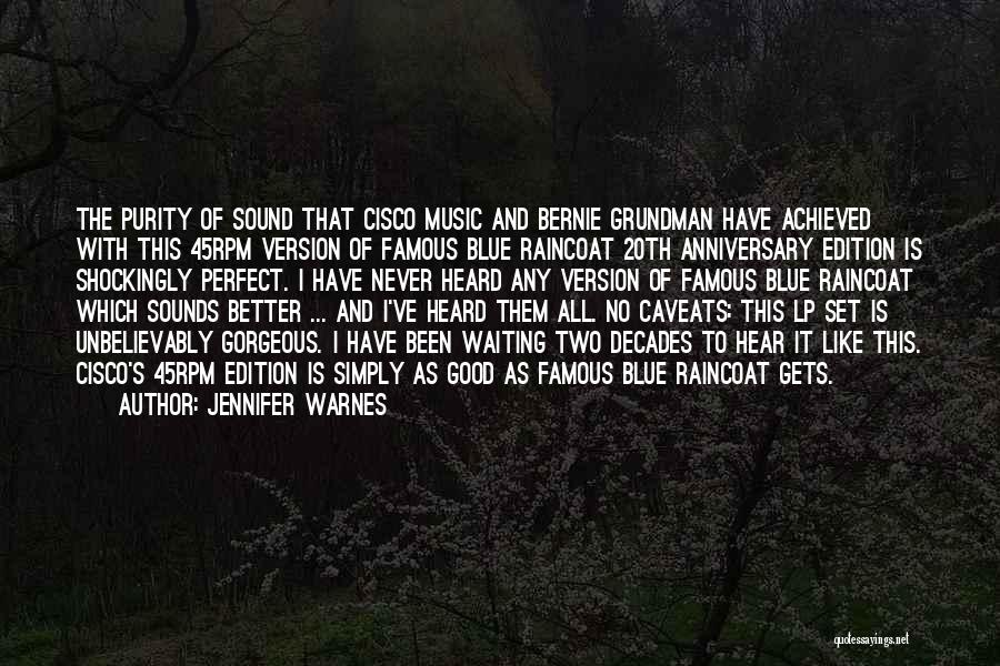 Would Have Been Anniversary Quotes By Jennifer Warnes