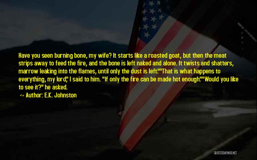 Would You Be My Wife Quotes By E.K. Johnston