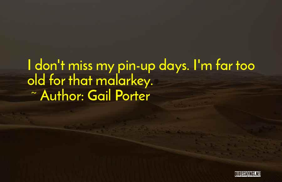 Would You Even Miss Me Quotes By Gail Porter