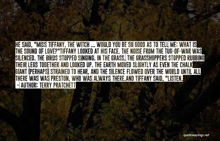 Would You Even Miss Me Quotes By Terry Pratchett
