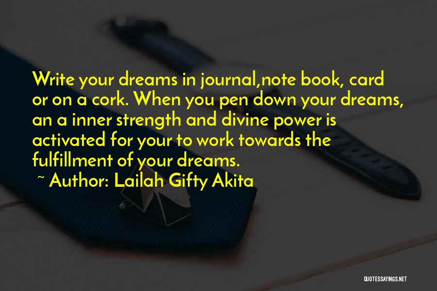 Write From The Heart Quotes By Lailah Gifty Akita