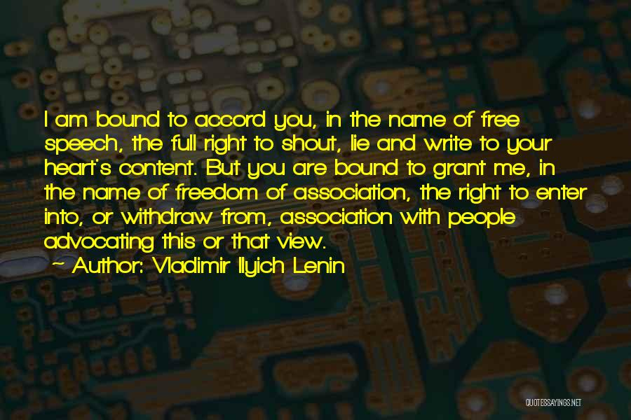 Write From The Heart Quotes By Vladimir Ilyich Lenin
