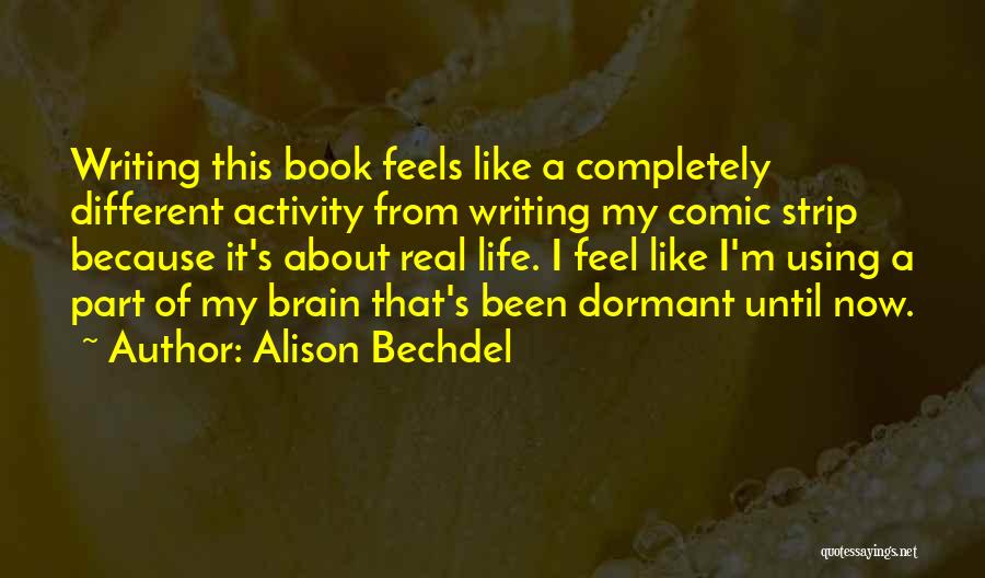 Writing A Book Using Quotes By Alison Bechdel