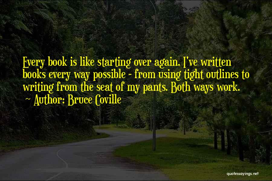 Writing A Book Using Quotes By Bruce Coville