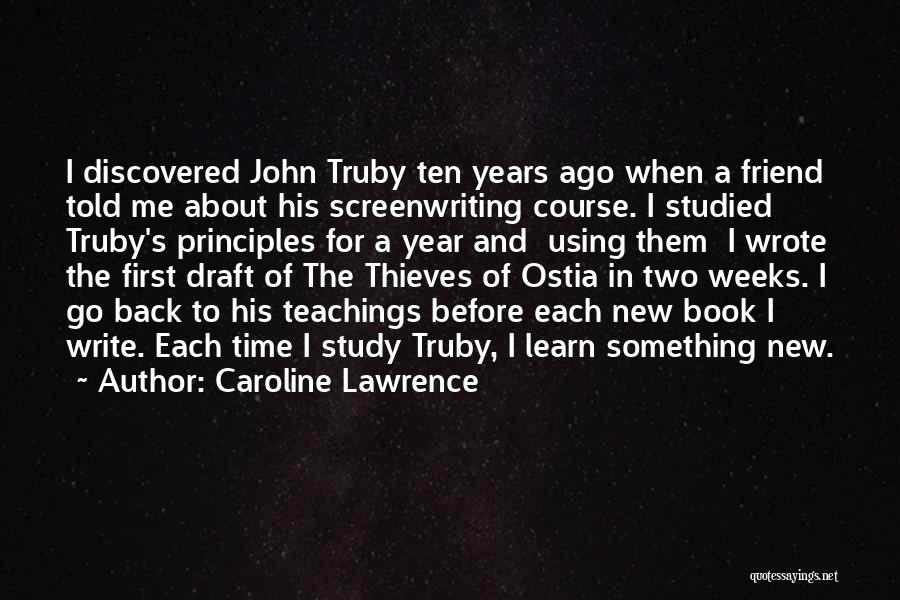 Writing A Book Using Quotes By Caroline Lawrence