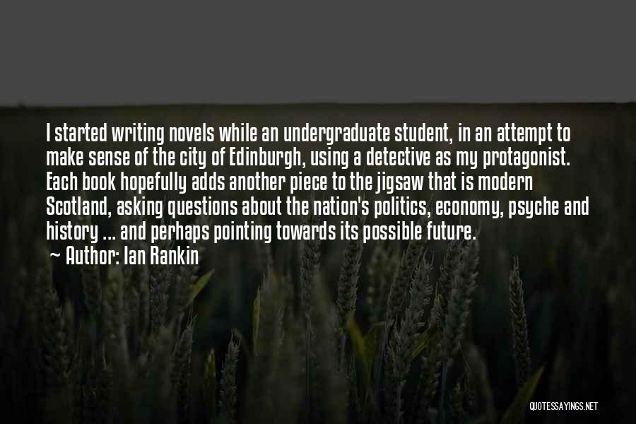 Writing A Book Using Quotes By Ian Rankin