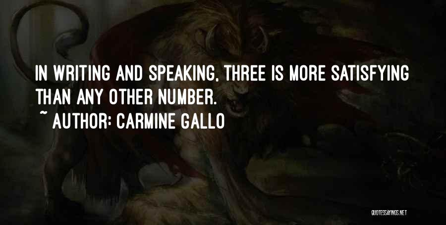 Writing And Speaking Quotes By Carmine Gallo