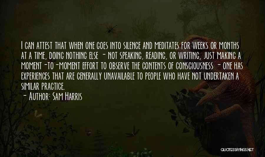 Writing And Speaking Quotes By Sam Harris