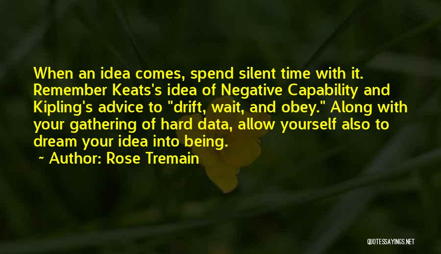 Writing Being Hard Quotes By Rose Tremain