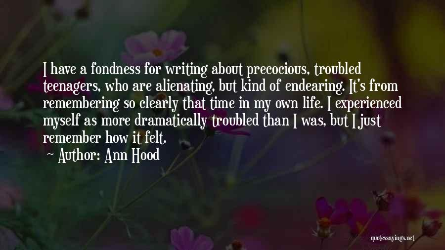 Writing Clearly Quotes By Ann Hood