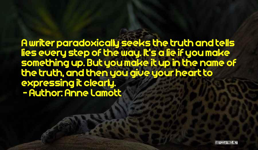 Writing Clearly Quotes By Anne Lamott