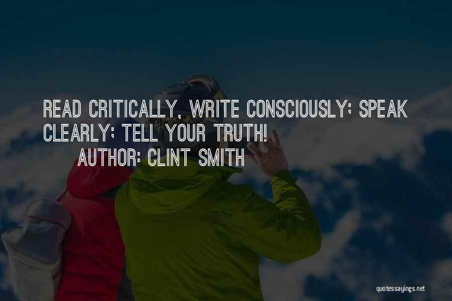 Writing Clearly Quotes By Clint Smith