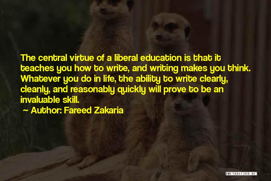 Writing Clearly Quotes By Fareed Zakaria