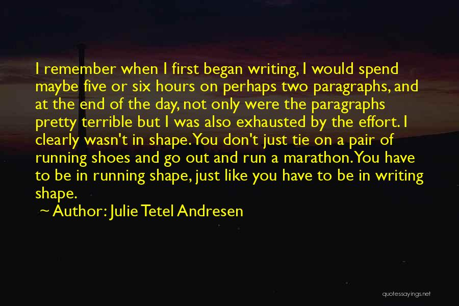 Writing Clearly Quotes By Julie Tetel Andresen