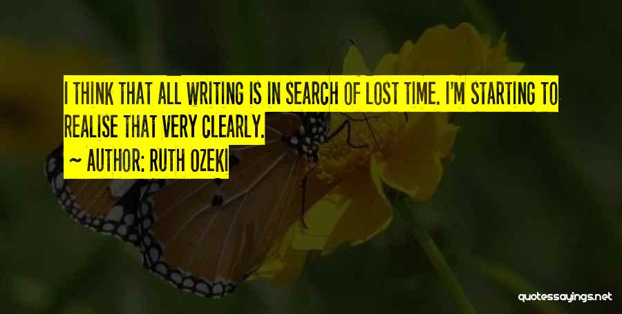 Writing Clearly Quotes By Ruth Ozeki