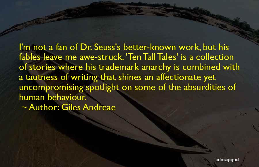 Writing Dr Seuss Quotes By Giles Andreae