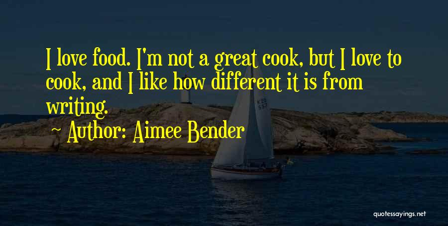 Writing Is Like Quotes By Aimee Bender