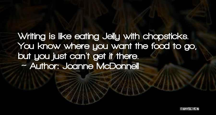 Writing Is Like Quotes By Joanne McDonnell