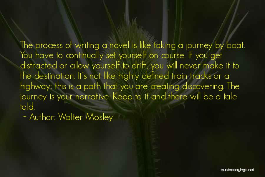Writing Is Like Quotes By Walter Mosley
