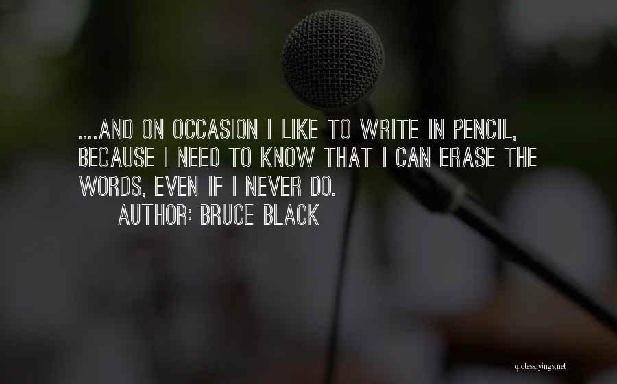 Writing Nonfiction Quotes By Bruce Black