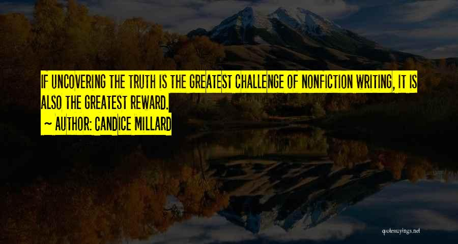 Writing Nonfiction Quotes By Candice Millard