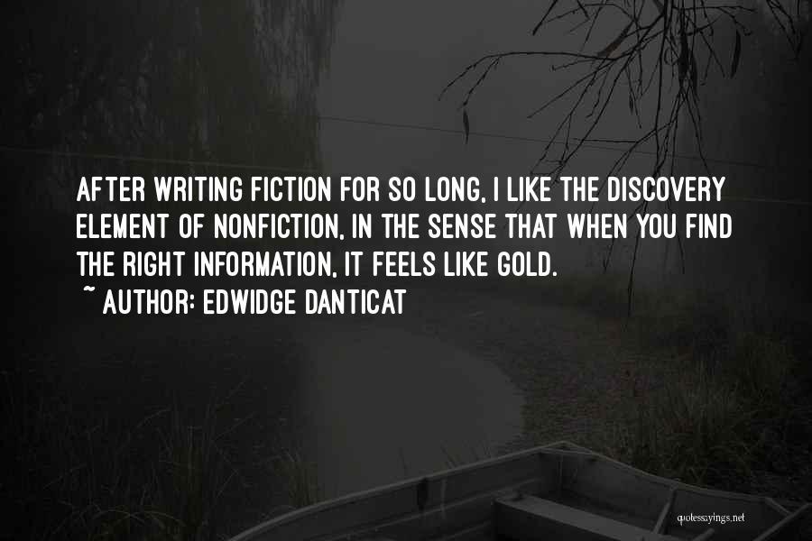 Writing Nonfiction Quotes By Edwidge Danticat