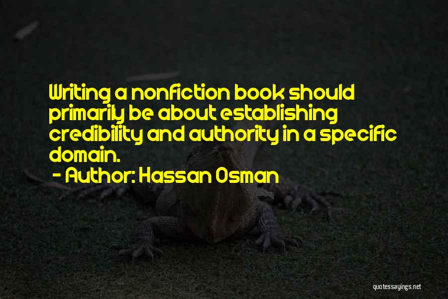 Writing Nonfiction Quotes By Hassan Osman