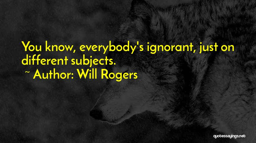 Writing Nonfiction Quotes By Will Rogers