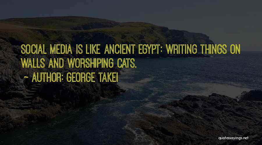 Writing On Wall Quotes By George Takei