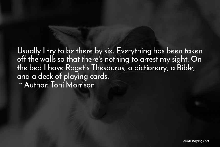 Writing On Wall Quotes By Toni Morrison