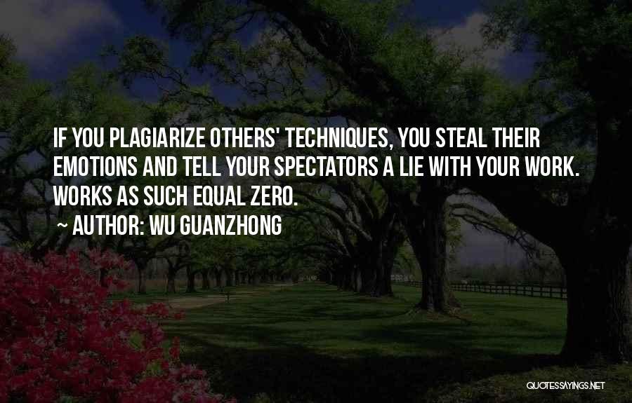 Wu Guanzhong Quotes 811716