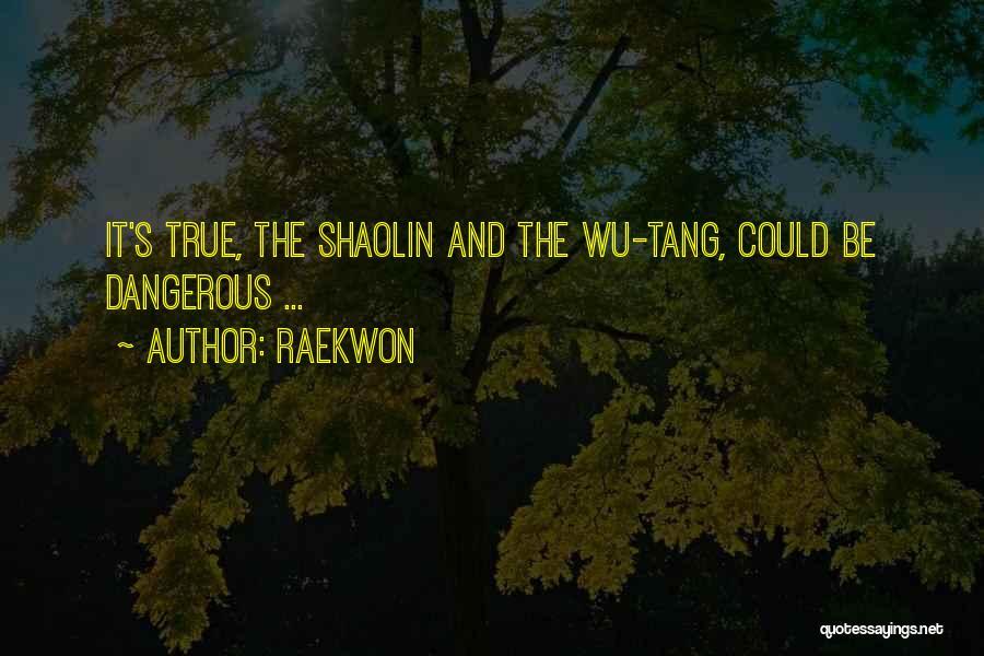 Wu Tang Shaolin Quotes By Raekwon