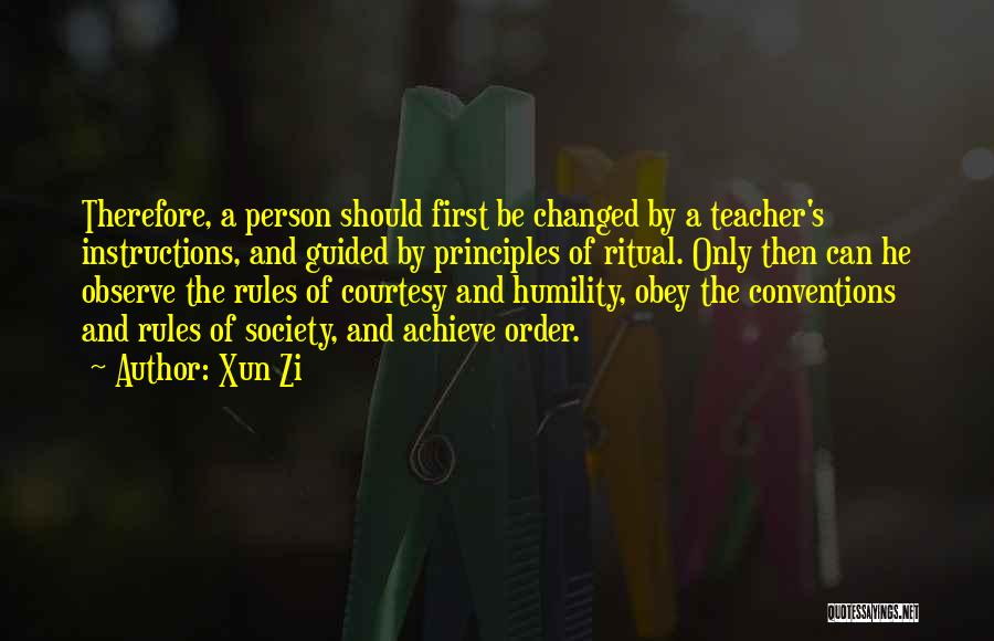 Xun Zi Quotes 379178