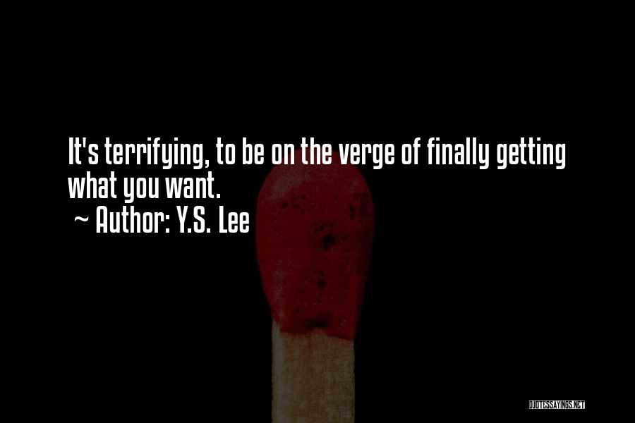 Y.S. Lee Quotes 130936