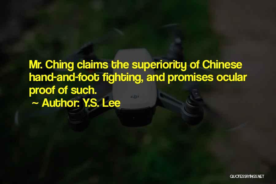 Y.S. Lee Quotes 1453607