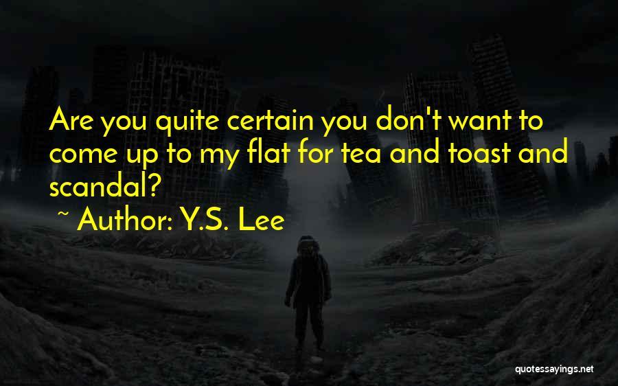 Y.S. Lee Quotes 383317