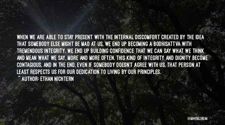 Y U Mad Quotes By Ethan Nichtern