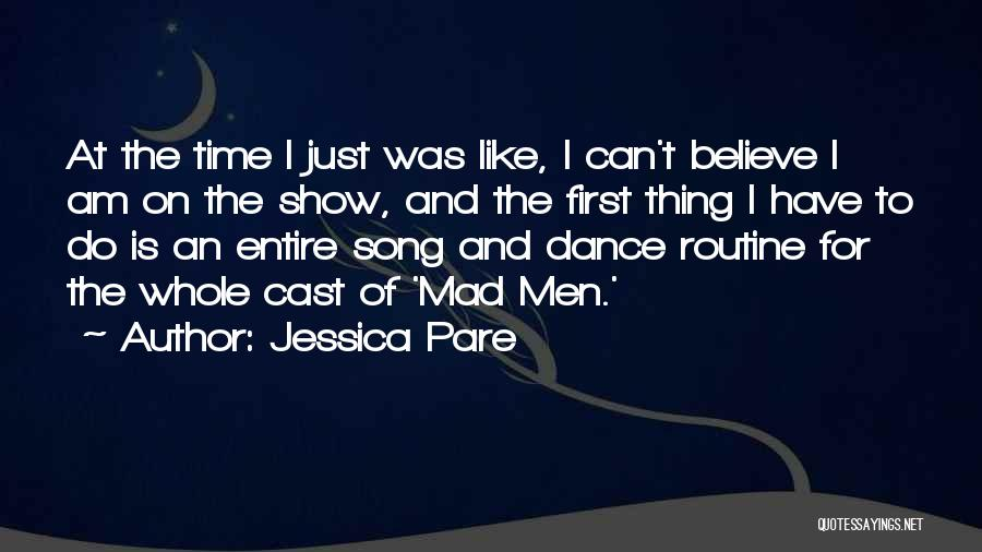 Y U Mad Quotes By Jessica Pare
