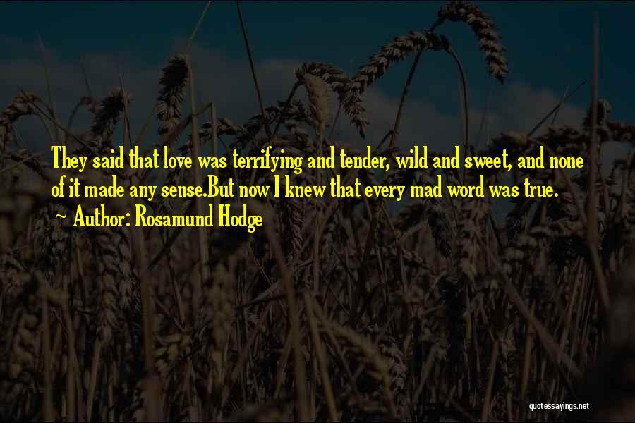 Y U Mad Quotes By Rosamund Hodge
