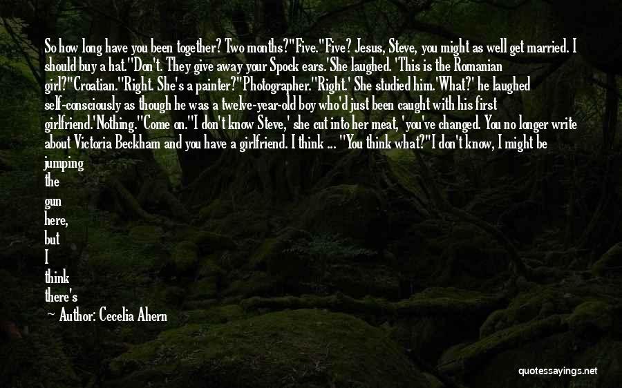 Year Twelve Quotes By Cecelia Ahern